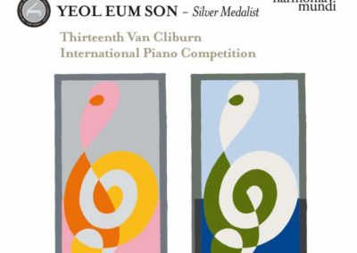 13th International Van Cliburn Competition – Silver Medal