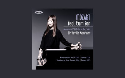 London Debut for Yeol Eum Son & Album of the Week on Classic FM for Debut Concerto Recording