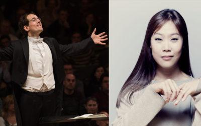Pablo González and Yeol Eum Son in concert with Gürzenich-Orchester Köln January 13, 14 & 15
